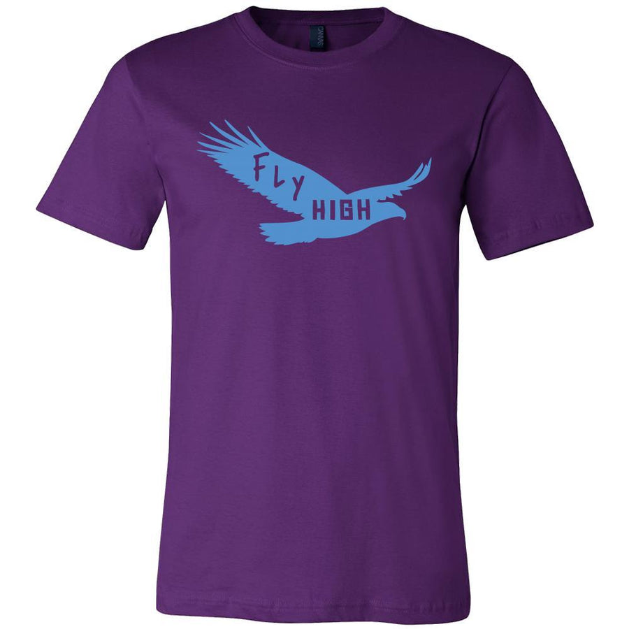 Eagle Shirt - Fly High - Animal Lover Gift-T-shirt-Teelime | shirts-hoodies-mugs