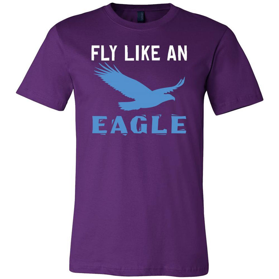 Eagle Shirt - Fly lie an Eagle - Animal Lover Gift-T-shirt-Teelime | shirts-hoodies-mugs