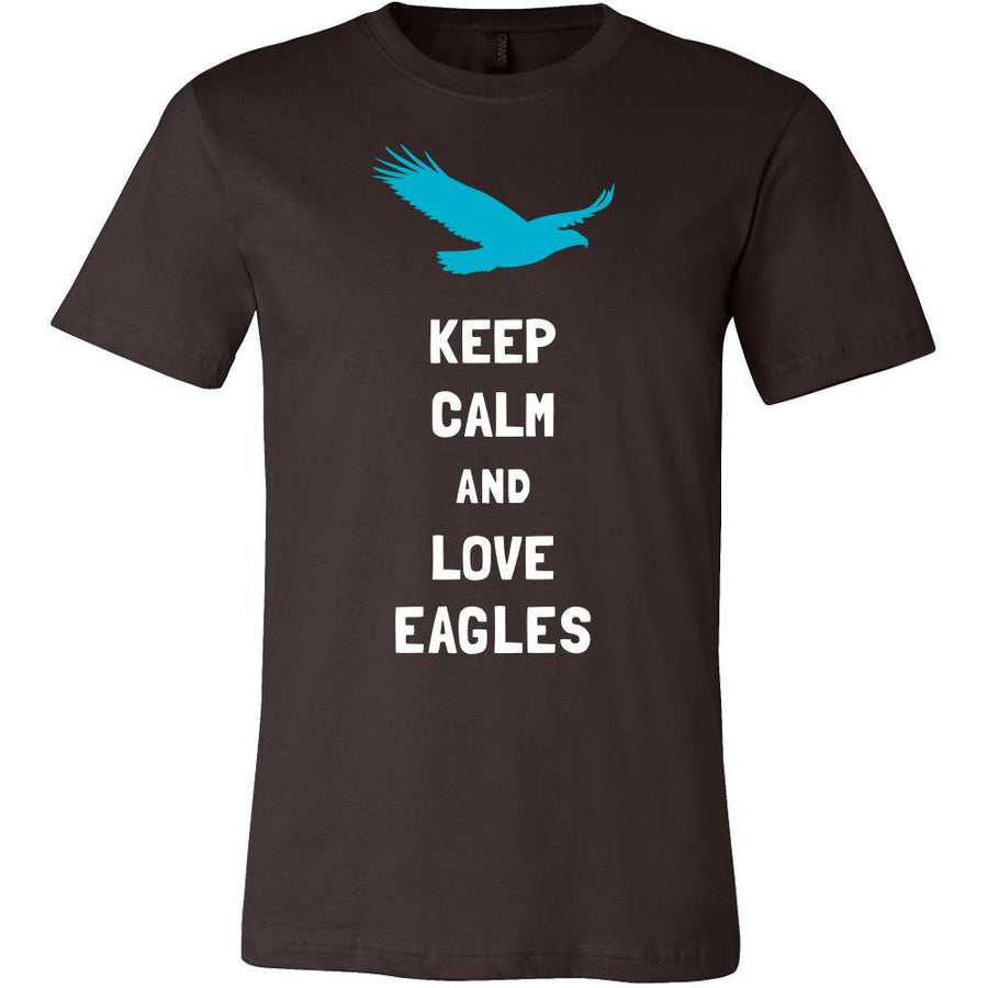 Eagle Shirt - Keep Calm - Animal Lover Gift-T-shirt-Teelime | shirts-hoodies-mugs