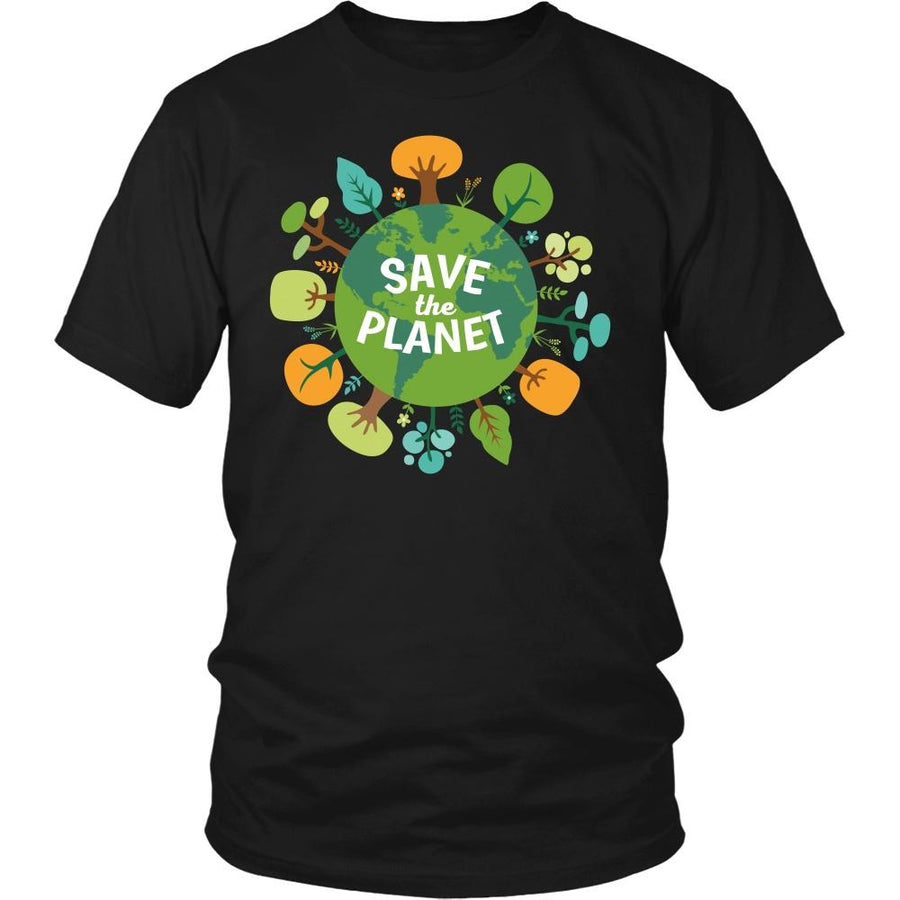 Ecology T Shirt - Save The Planet-T-shirt-Teelime | shirts-hoodies-mugs