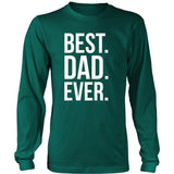 Father's Day T Shirt - Best Dad Ever-T-shirt-Teelime | shirts-hoodies-mugs