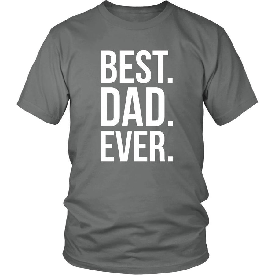 bbd681ee Father's Day T Shirt - Best Dad Ever-T-shirt-Teelime | shirts