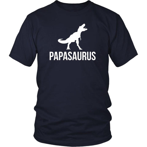 Father's Day T Shirt - Papasaurus-T-shirt-Teelime | shirts-hoodies-mugs
