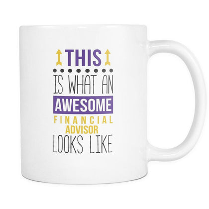 Financial Advisor coffee cup - Awesome Financial Advisor-Drinkware-Teelime | shirts-hoodies-mugs