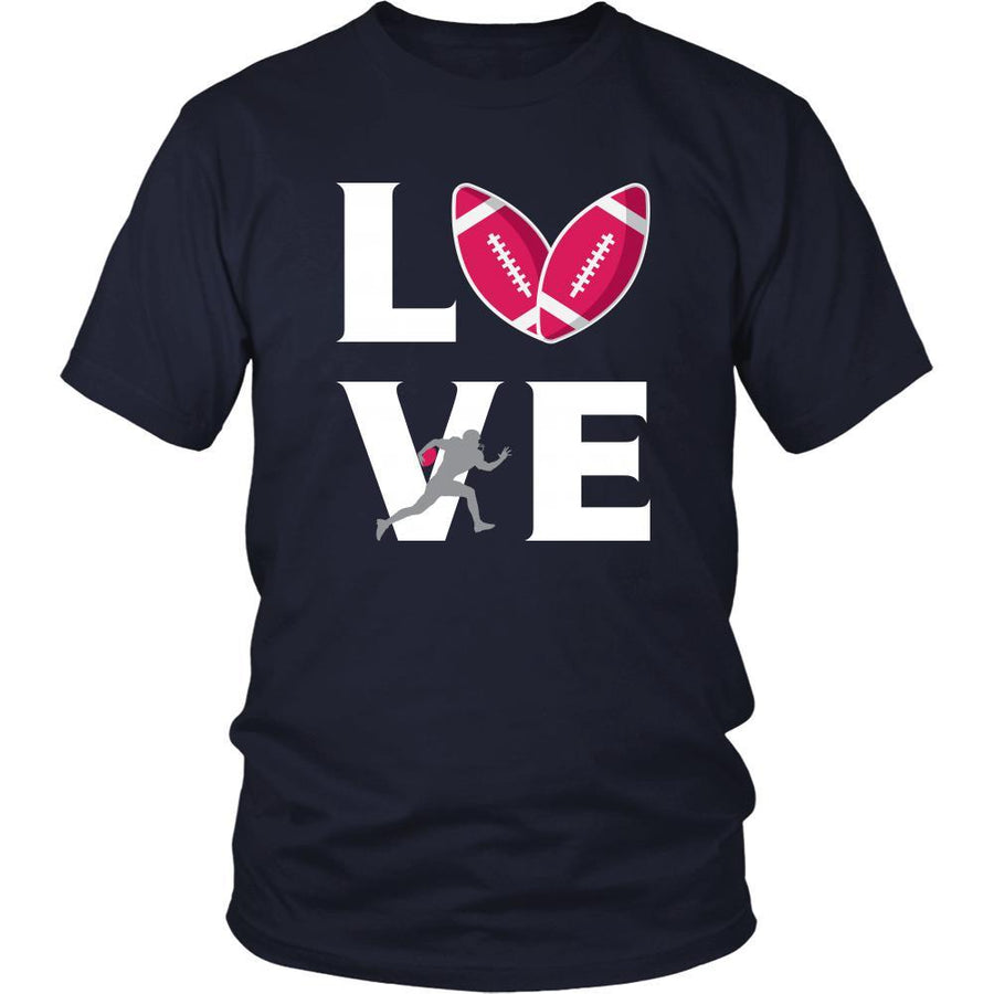 Football - LOVE Football - Sport Player Shirt-T-shirt-Teelime | shirts-hoodies-mugs