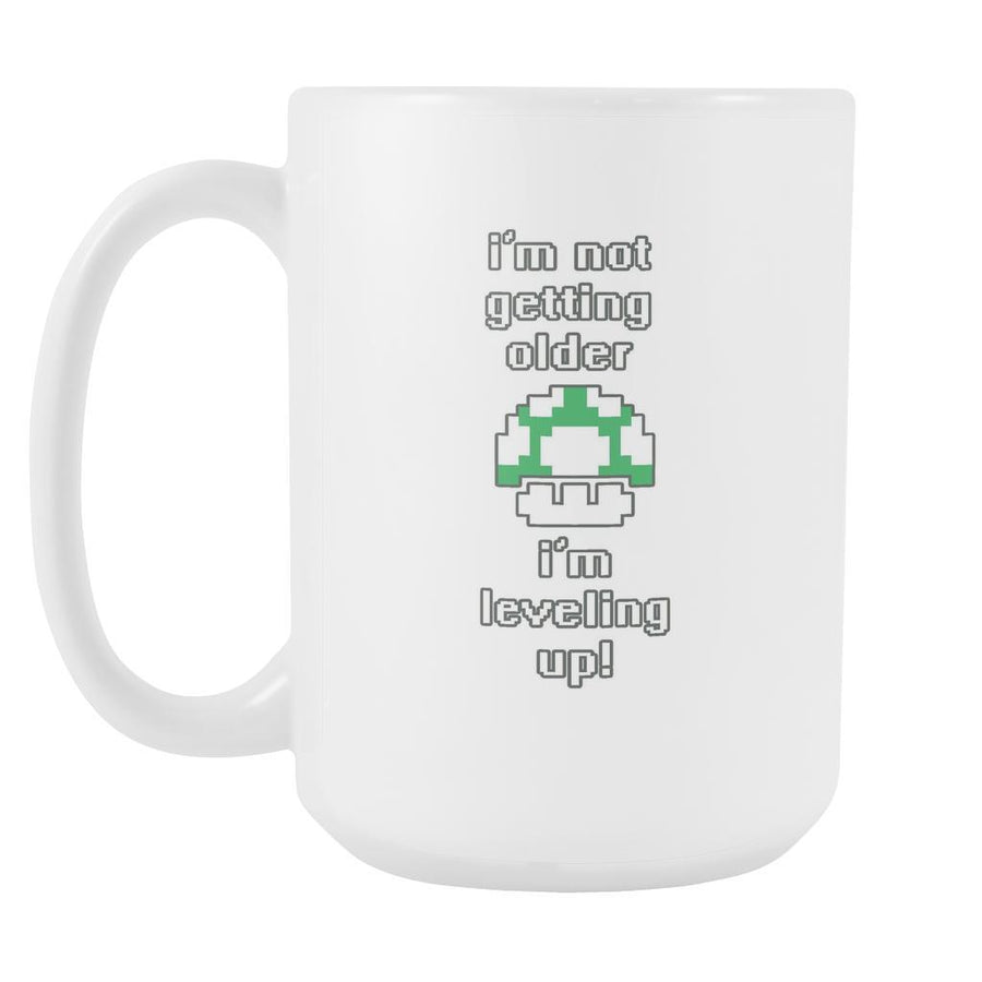 Gamer Mug - I'm not getting older I'm leveling up-Drinkware-Teelime | shirts-hoodies-mugs
