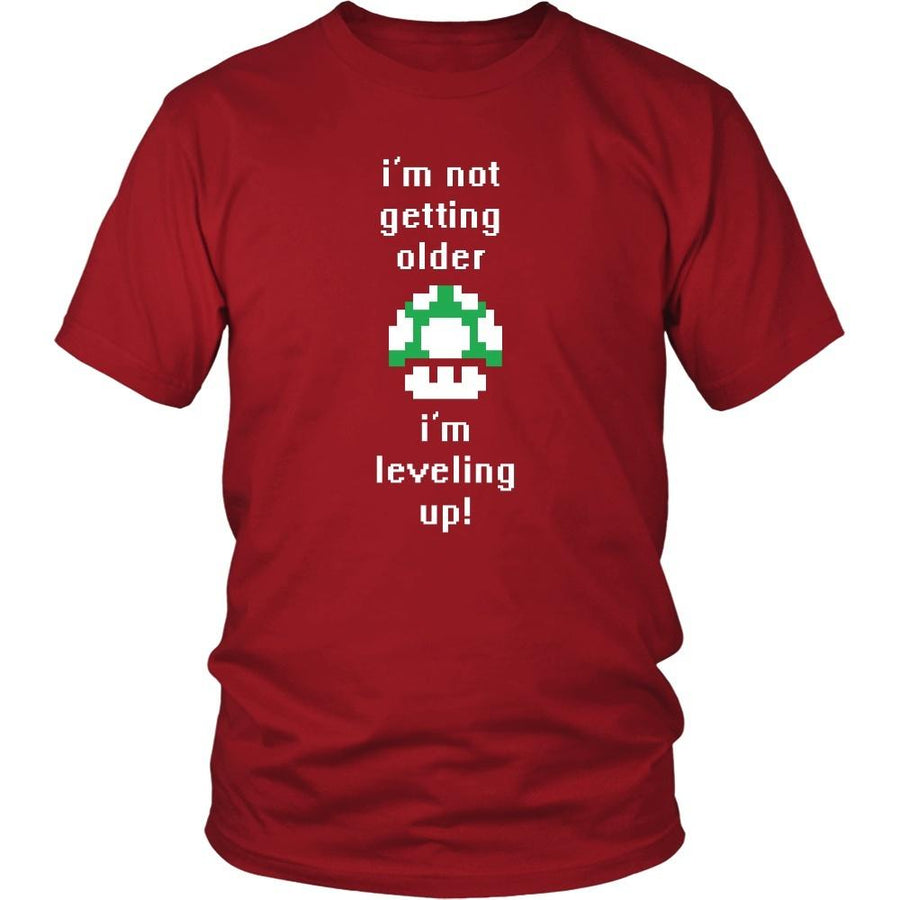 Gamer T Shirt - I'm not getting older I'm leveling up-T-shirt-Teelime | shirts-hoodies-mugs