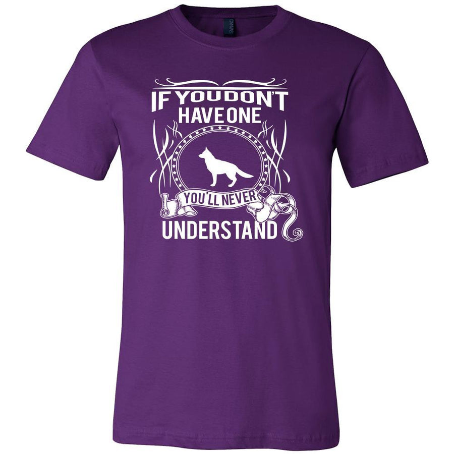 German shepherd Shirt - If you don't have one you'll never understand- Dog Lover Gift-T-shirt-Teelime | shirts-hoodies-mugs