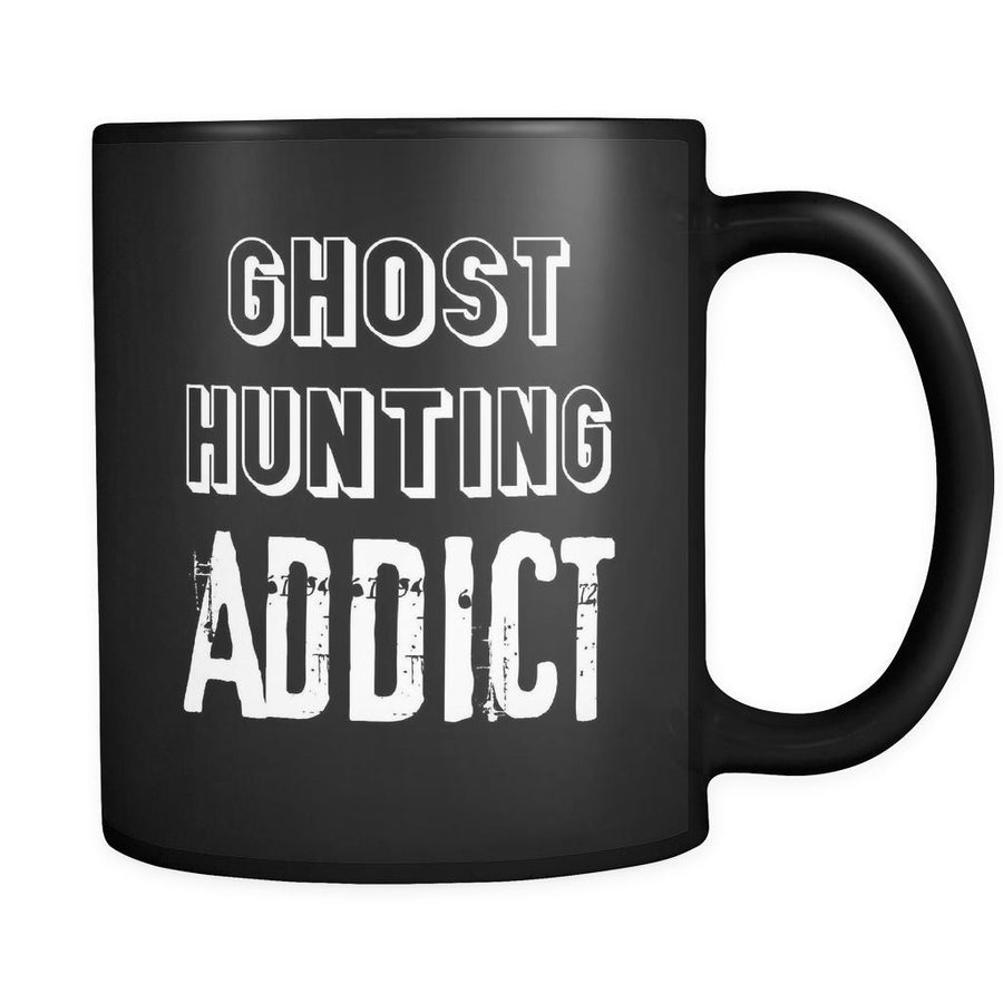 Ghost hunting Ghost hunting Addict 11oz Black Mug-Drinkware-Teelime | shirts-hoodies-mugs