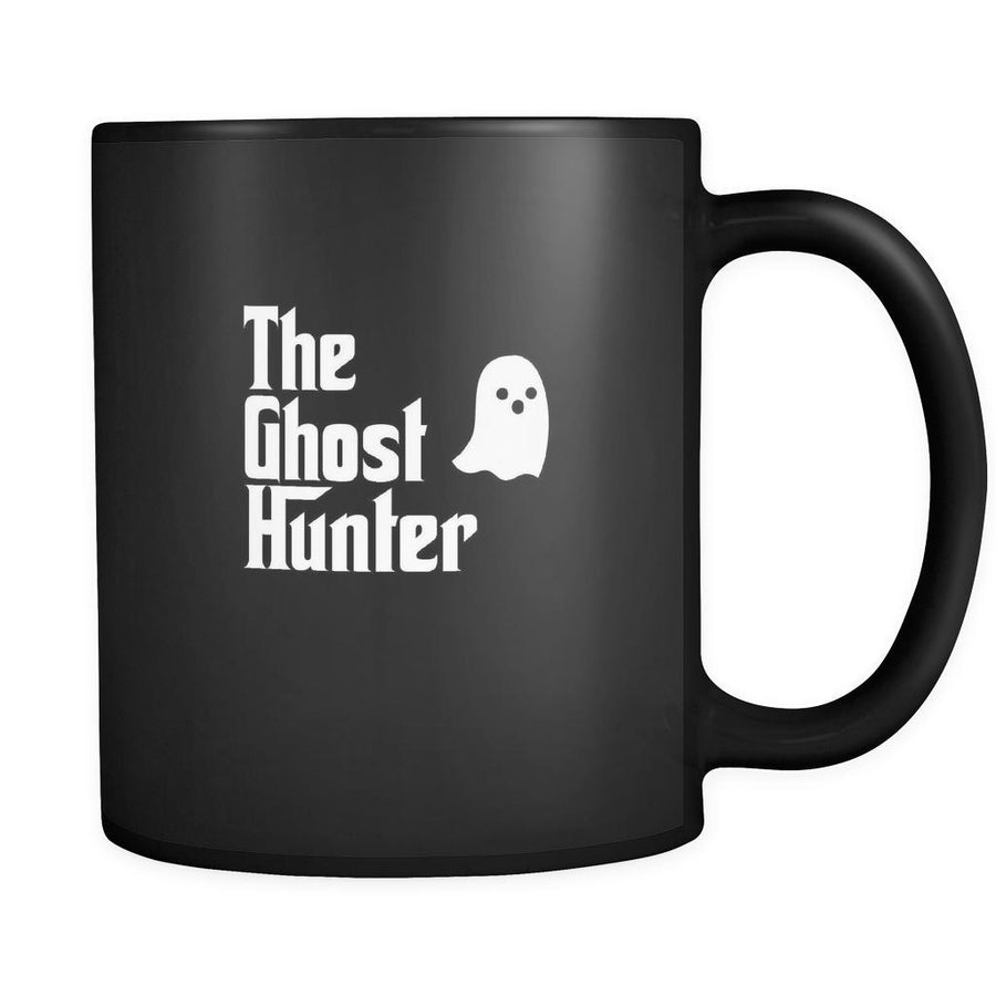 Ghost hunting The Ghost Hunter 11oz Black Mug-Drinkware-Teelime | shirts-hoodies-mugs