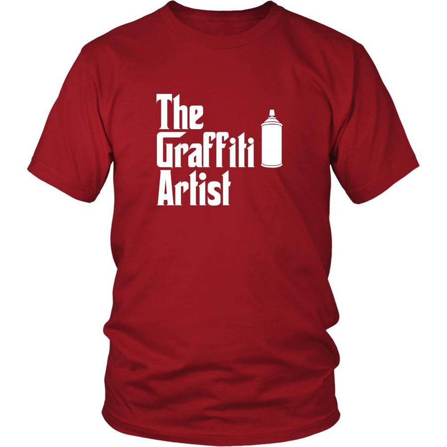 Graffiting Shirt - The Graffiti Artist Hobby Gift