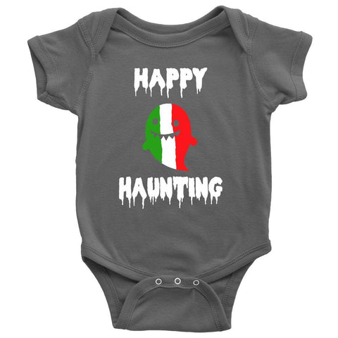 Halloween Kids Shirt-Italian Ghost - Happy Haunting-T-shirt-Teelime | shirts-hoodies-mugs