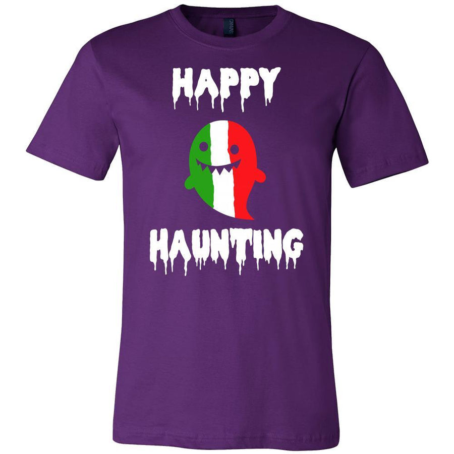 Halloween Shirt-Italian Ghost - Happy Haunting-T-shirt-Teelime | shirts-hoodies-mugs