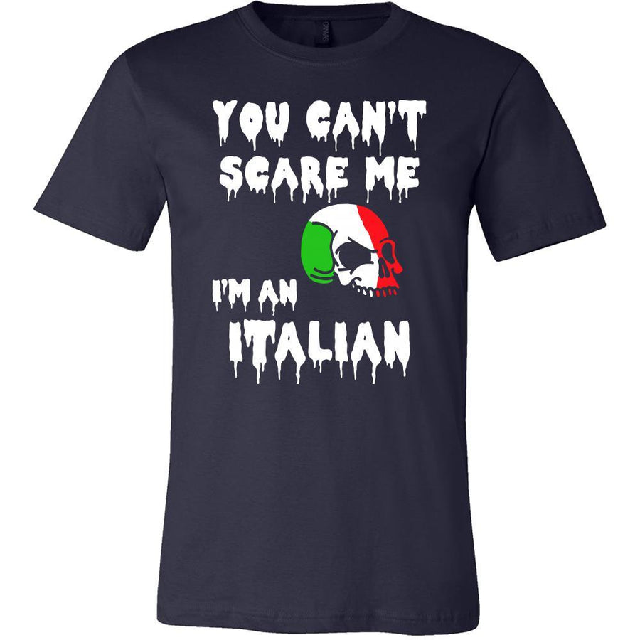 Halloween Shirt - You Can't Scare me, I'm an Italian-T-shirt-Teelime | shirts-hoodies-mugs