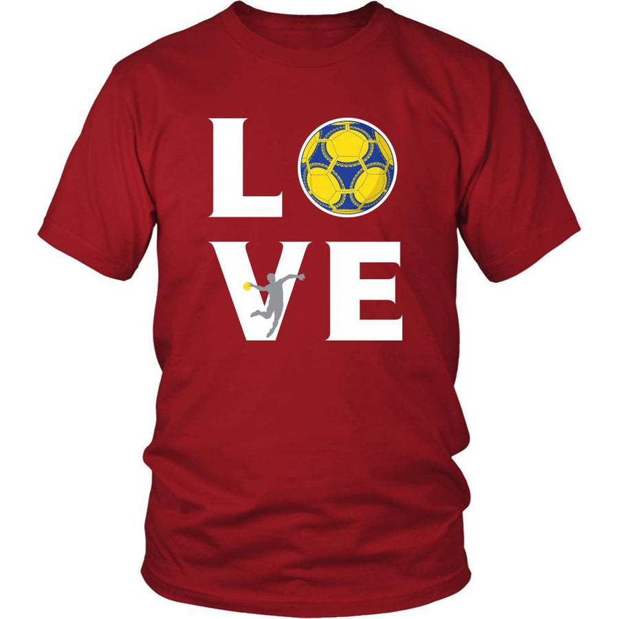 Handball - LOVE Handball - Sport Player Shirt-T-shirt-Teelime | shirts-hoodies-mugs