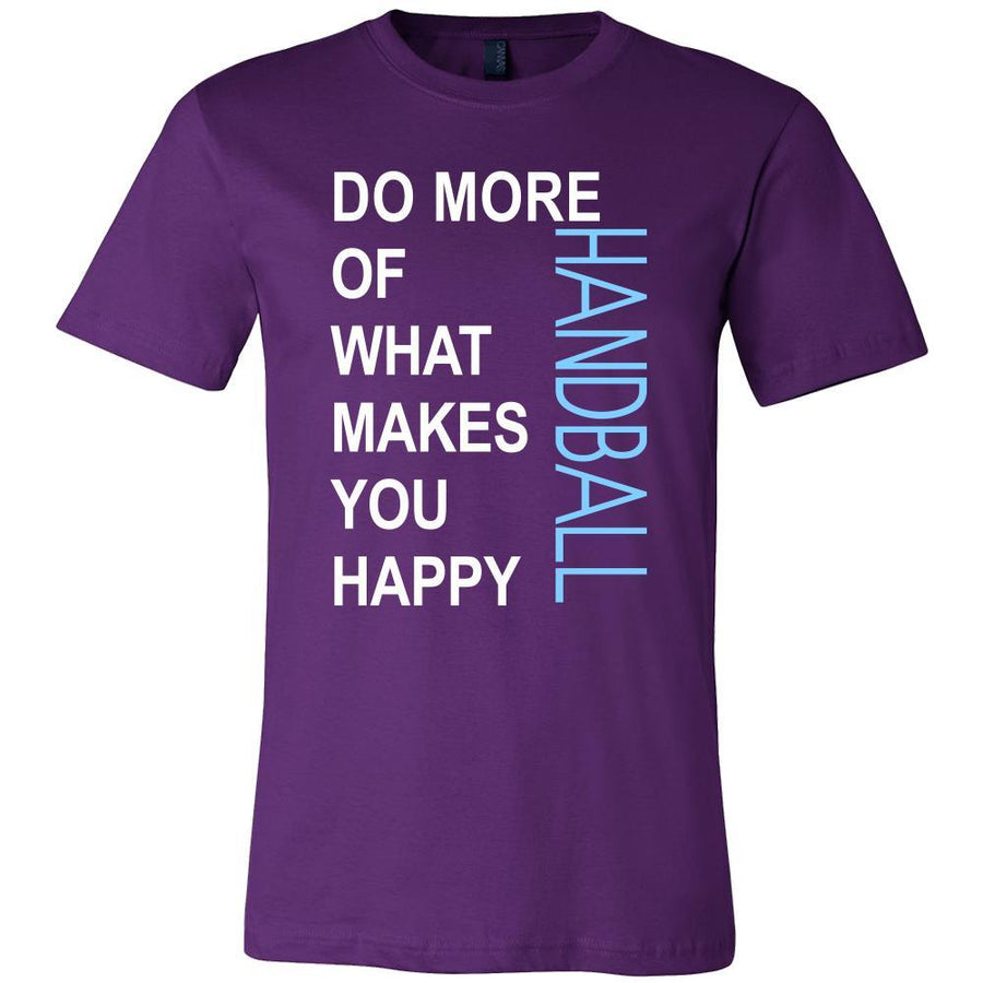 Handball Shirt - Do more of what makes you happy Handball- Sport Gift-T-shirt-Teelime | shirts-hoodies-mugs