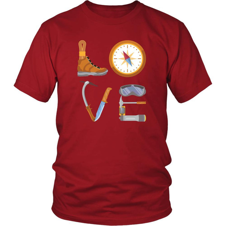 Hiking - LOVE Hiking - Hike Hobby Shirt-T-shirt-Teelime | shirts-hoodies-mugs