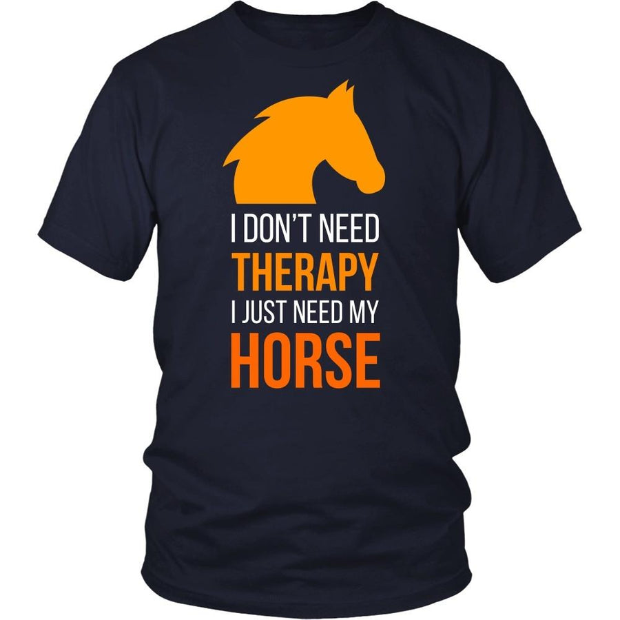 Horse T Shirt - I don't need therapy I just need my-T-shirt-Teelime | shirts-hoodies-mugs