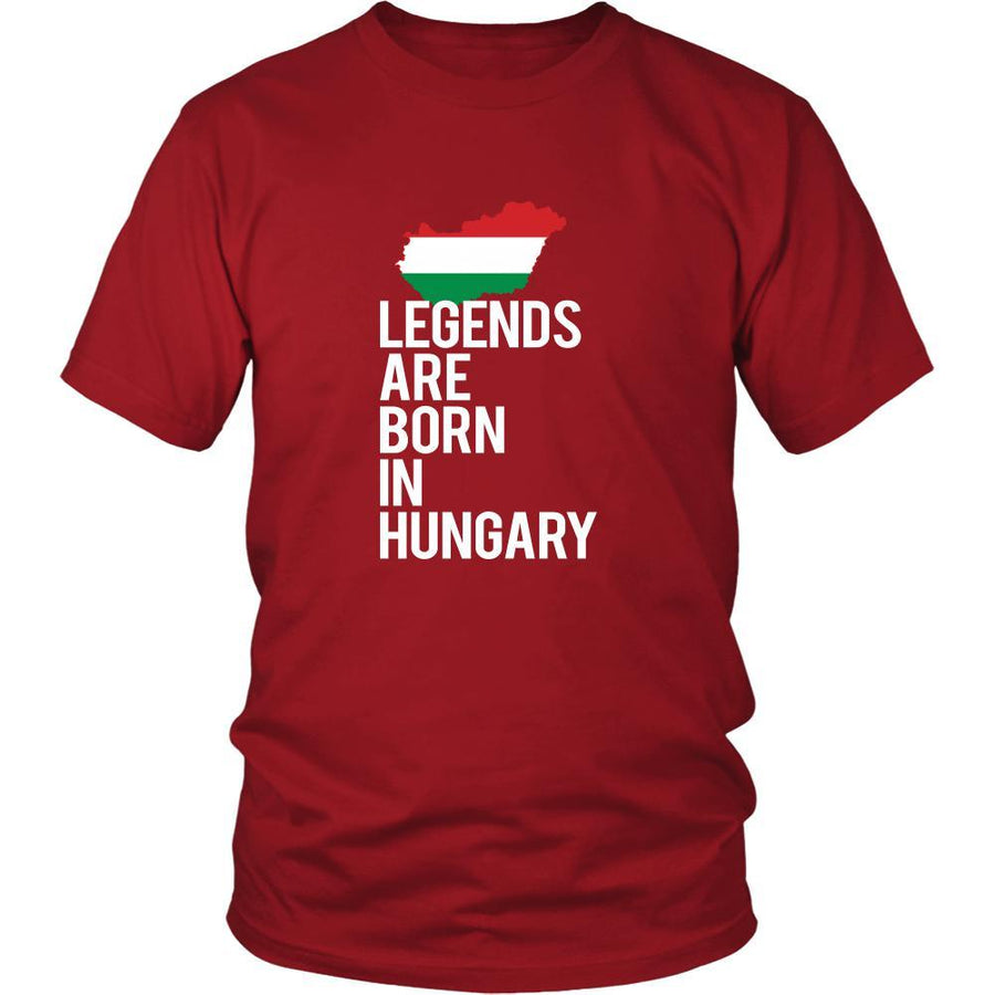 Hungary Shirt - Legends are born in Hungary - National Heritage Gift
