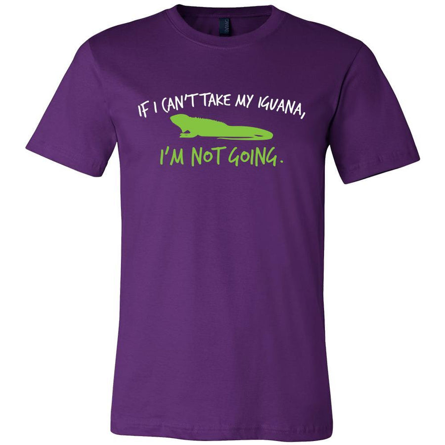 Iguanas Shirt - I'm Not Going - Animal Lover Gift-T-shirt-Teelime | shirts-hoodies-mugs