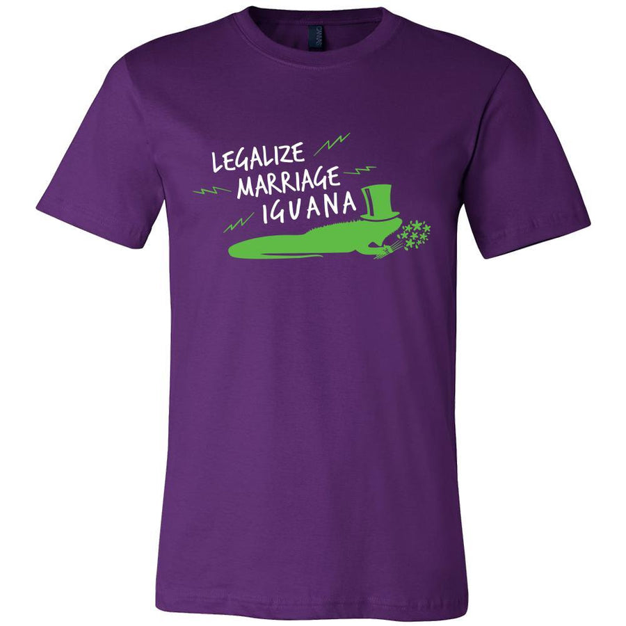 Iguanas Shirt - Marriage Iguana - Animal Lover Gift-T-shirt-Teelime | shirts-hoodies-mugs