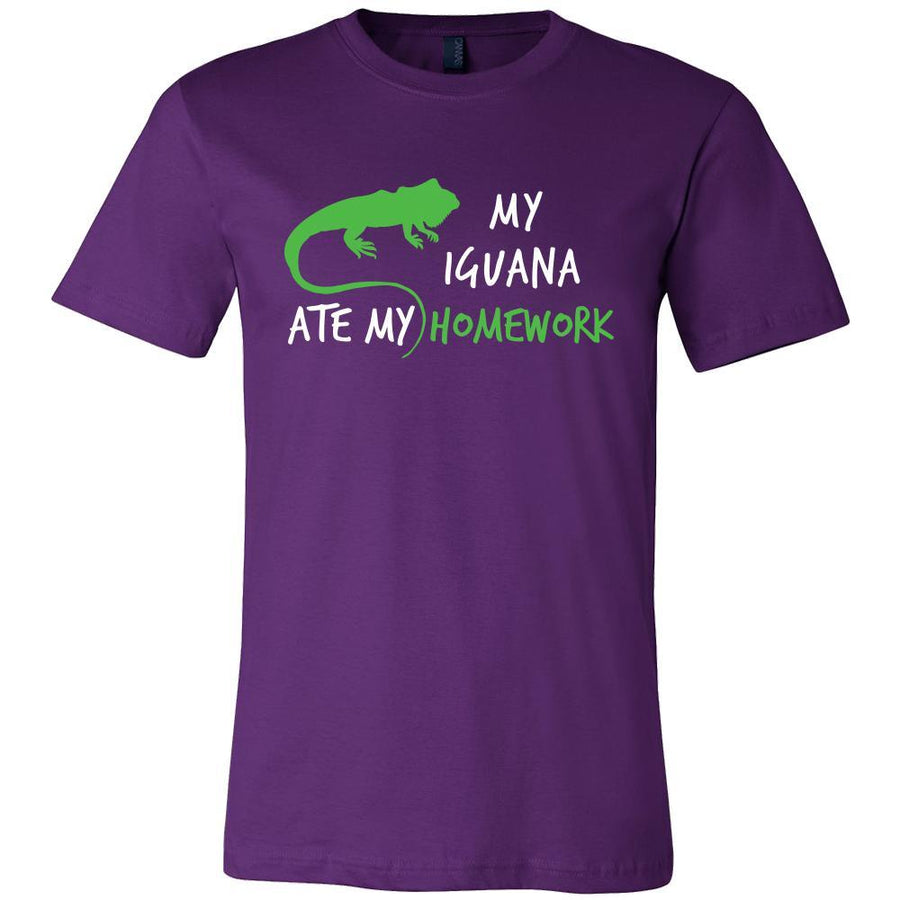 Iguanas Shirt - My Iguana ate my Homework - Animal Lover Gift-T-shirt-Teelime | shirts-hoodies-mugs