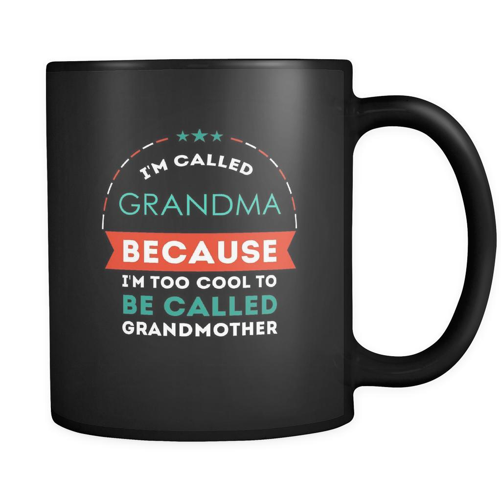 I M Too Cool To Be Called Grandmother Gift Ideas For Grandma Birthday Teelime Unique T Shirts