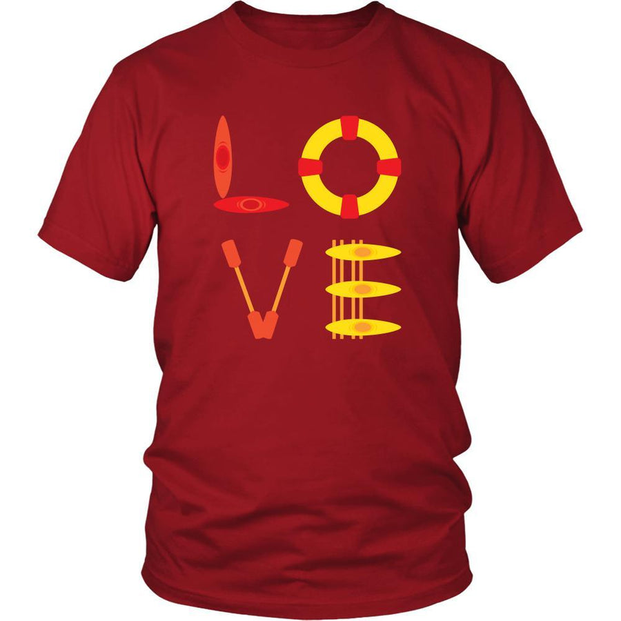 Kayaking - LOVE Kayaking  - Kayaker Hobby Shirt
