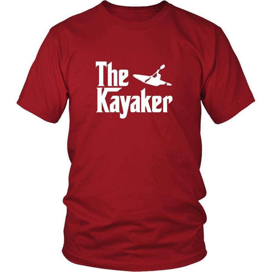 Kayaking Shirt - The Kayaker Hobby Gift-T-shirt-Teelime | shirts-hoodies-mugs
