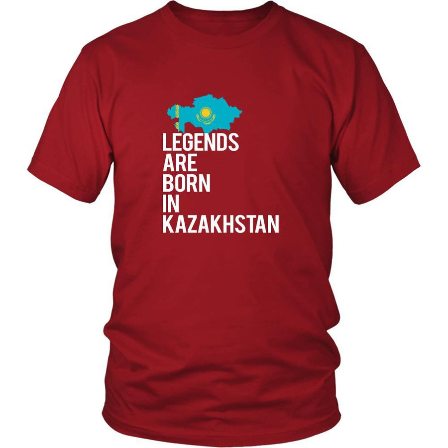 Kazakhstan Shirt - Legends are born in Kazakhstan - National Heritage Gift-T-shirt-Teelime | shirts-hoodies-mugs