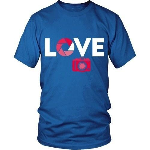 Love Photography T Shirt-T-shirt-Teelime | shirts-hoodies-mugs