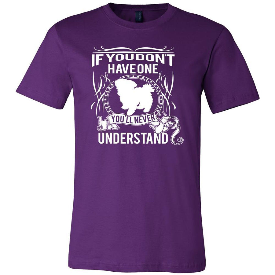 Maltese Shirt - If you don't have one you'll never understand- Dog Lover Gift-T-shirt-Teelime | shirts-hoodies-mugs
