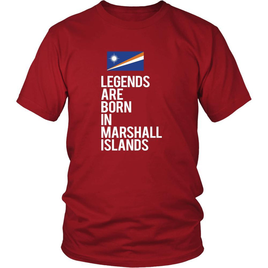Marshall Islands Shirt - Legends are born in Marshall Islands - National Heritage Gift-T-shirt-Teelime | shirts-hoodies-mugs