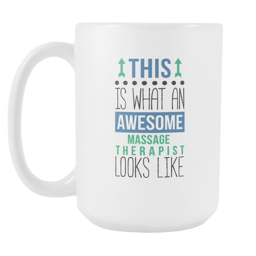 Massage Therapist mug - Awesome Massage Therapist-Drinkware-Teelime | shirts-hoodies-mugs