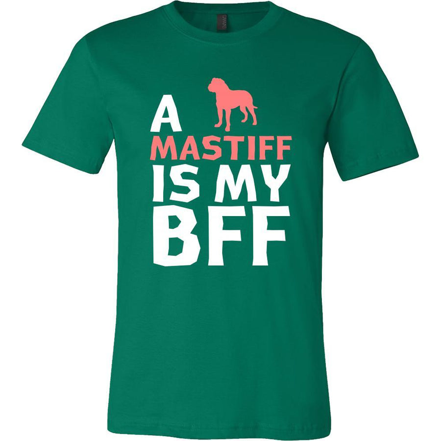 Mastiff Shirt - a Mastiff is my bff- Dog Lover Gift-T-shirt-Teelime | shirts-hoodies-mugs