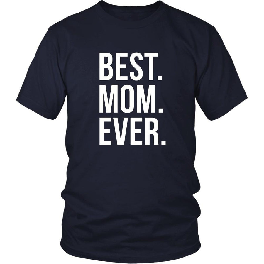 Mother's Day T Shirt - Best Mom Ever-T-shirt-Teelime | shirts-hoodies-mugs