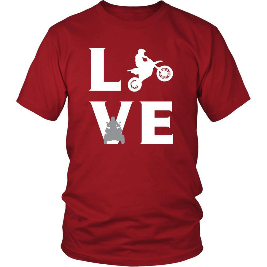 Motor sports - LOVE Motor sports - Sport Player Shirt-T-shirt-Teelime | shirts-hoodies-mugs