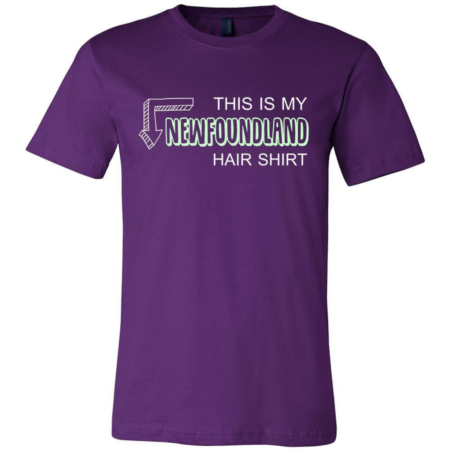 Newfoundland Shirt - This is my Newfoundland hair shirt - Dog Lover Gift