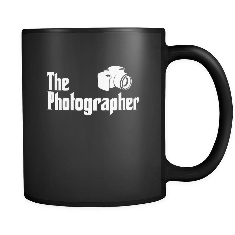 Photography The Photographer 11oz Black Mug-Drinkware-Teelime | shirts-hoodies-mugs