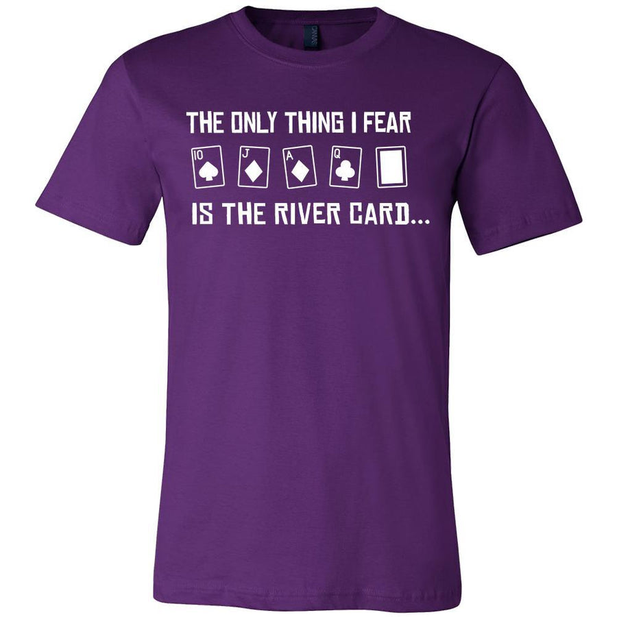 Poker Shirt - The River Card - Card Game Love Gift-T-shirt-Teelime | shirts-hoodies-mugs