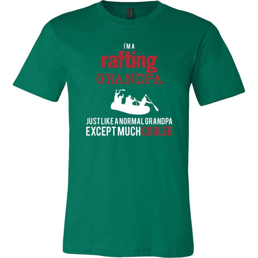 Rafting Shirt - I'm a rafting grandpa just like a normal grandpa except much cooler Grandfather Hobby Gift