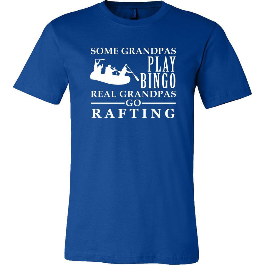 Rafting Shirt Some Grandpas play bingo, real Grandpas go Rafting Family Hobby-T-shirt-Teelime | shirts-hoodies-mugs