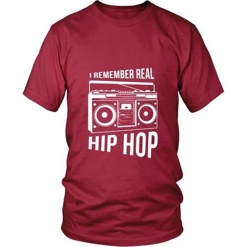 Rap T Shirt - I remember real Hip Hop Rap