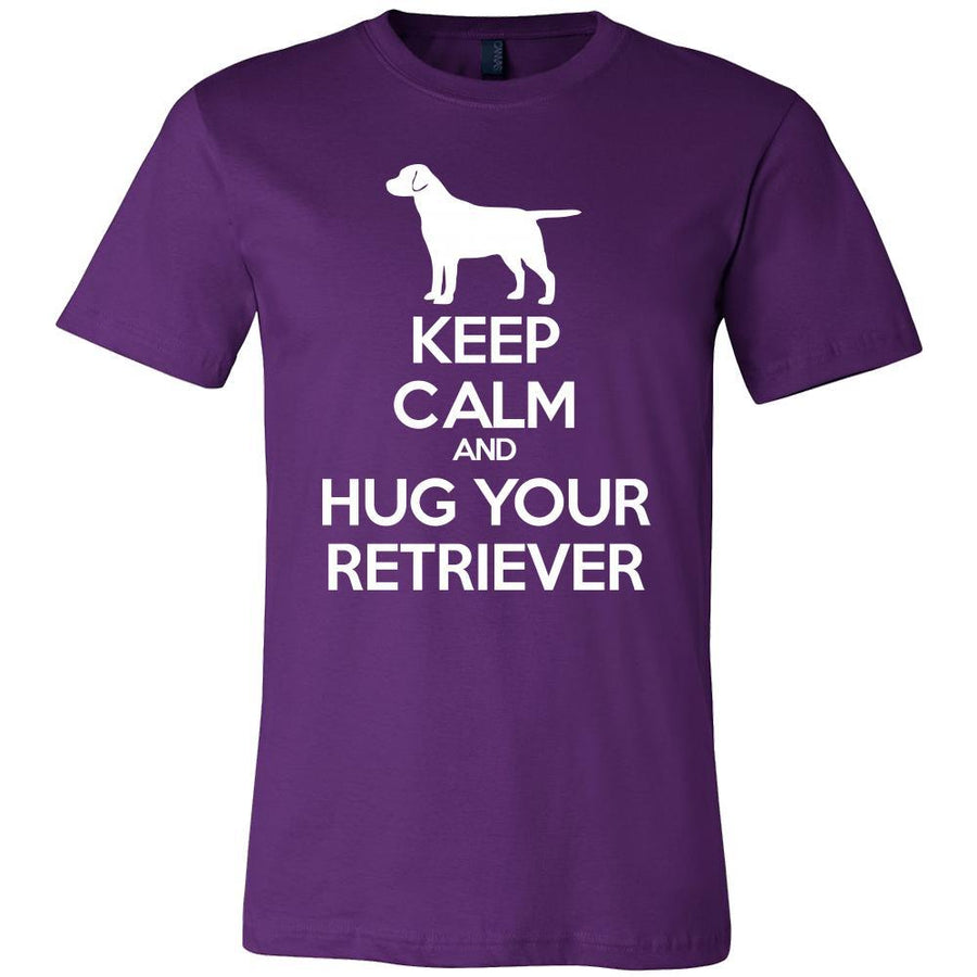 Retriever Shirt - Keep Calm and Hug Your Retriever- Dog Lover Gift