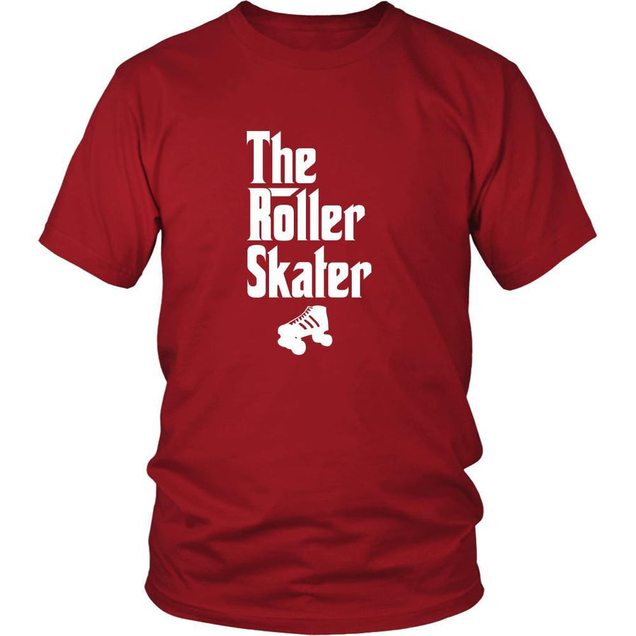 Roller skating Shirt - The Roller Skater Hobby Gift-T-shirt-Teelime | shirts-hoodies-mugs
