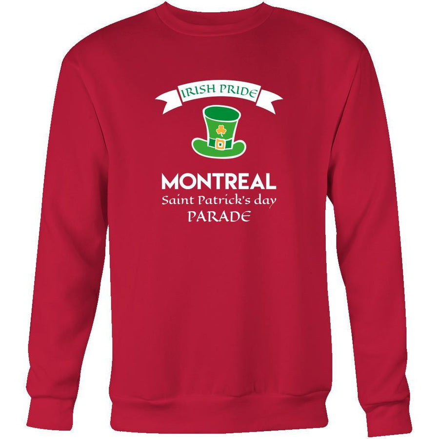 "Saint Patrick's Day - "" Montreal Canada Irish Pride Parade "" - custom made unique apparel."