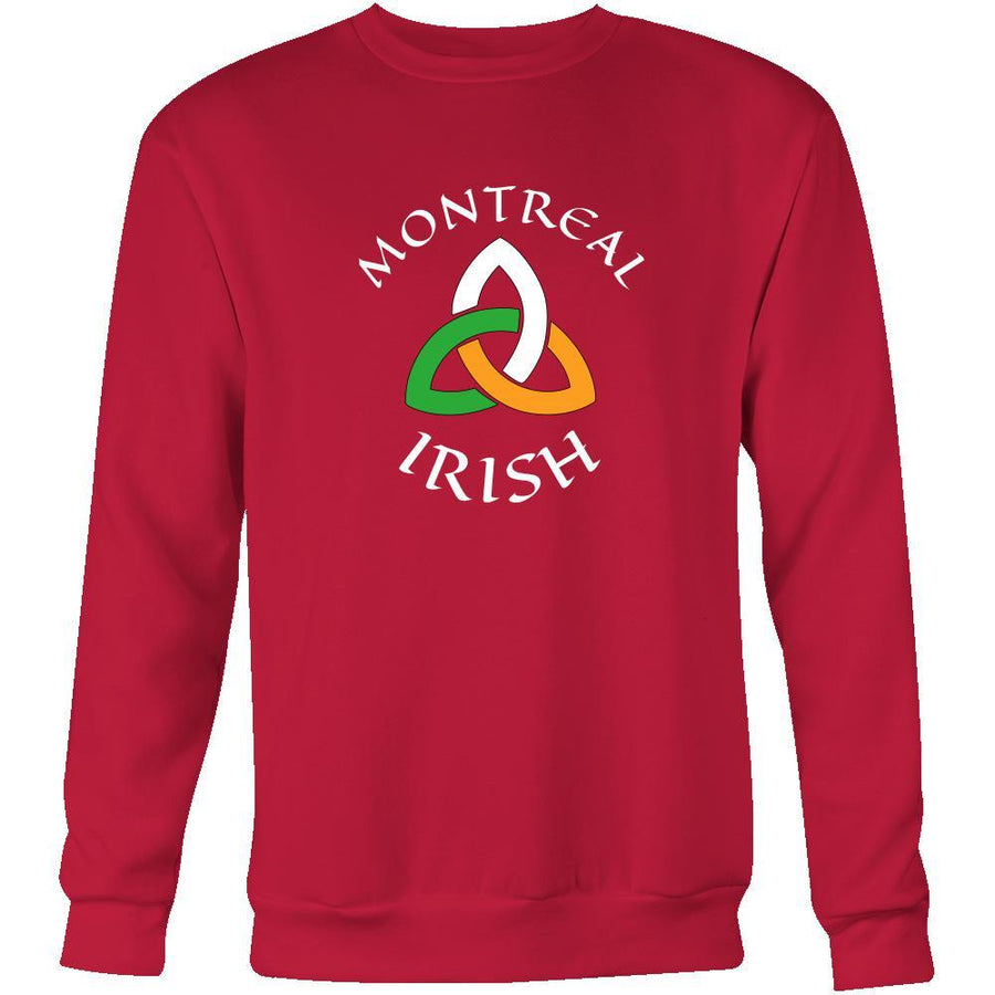"Saint Patrick's Day - "" Montreal Canada Parade "" - custom made unique apparel.-T-shirt-Teelime 