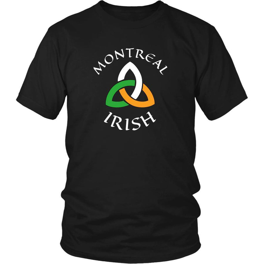 "Saint Patrick's Day - "" Montreal Canada Parade "" - custom made unique t-shirt.-T-shirt-Teelime 