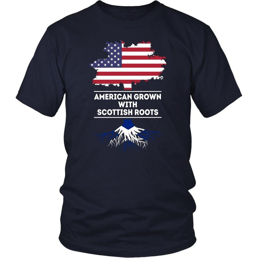 Scottish T Shirt - American grown with Scottish roots