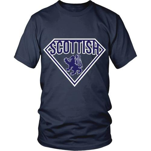 Scottish T Shirt - Superman